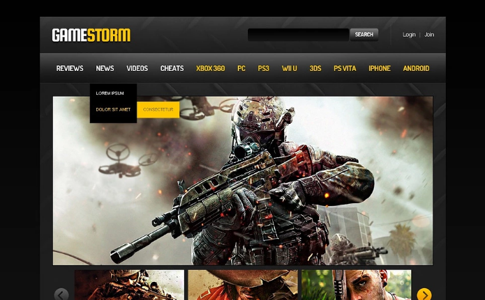 Best Gaming HTML Website Templates