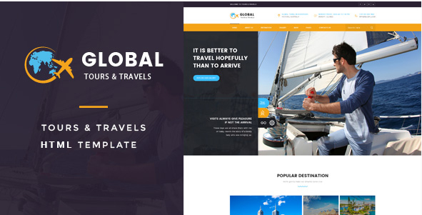 Global - Tours & Travels HTML Template