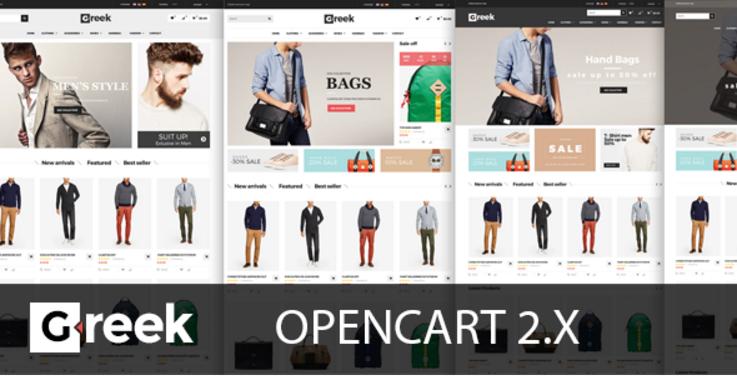 Greek - Responsive OpenCart Theme