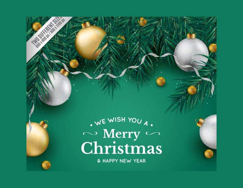 Green-Background-Christmas-Mockup