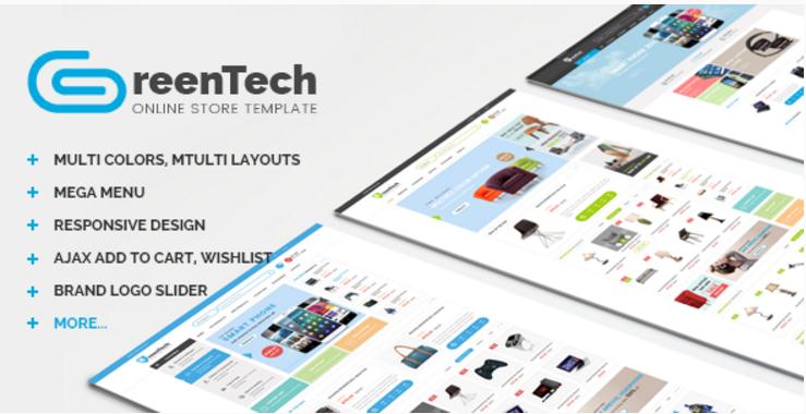 GreenTech - Shopping Responsive Prestashop Theme