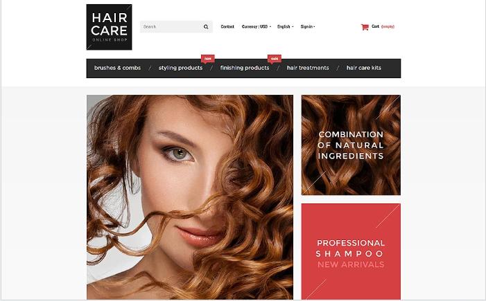 Hair Gloss PrestaShop Theme