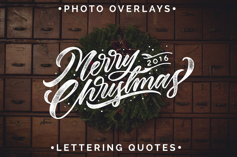 Handcraft-Christmas-Typography
