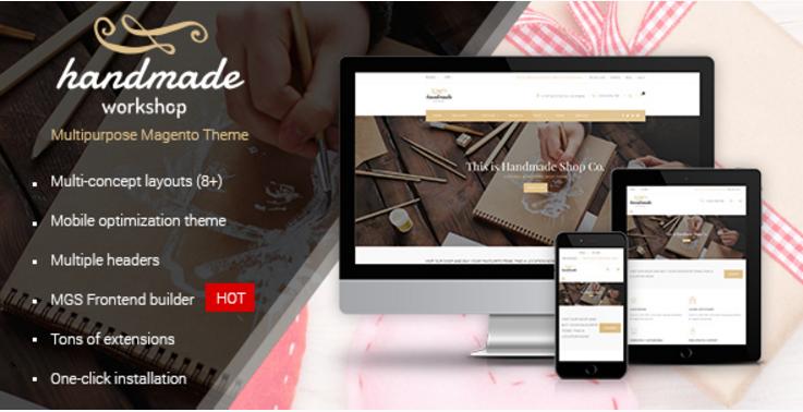 Handmade - Multipurpose Magento Theme