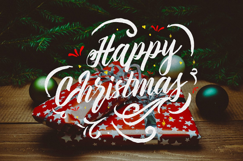 Happy-Christmas-Typography