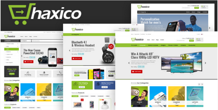 Haxico - Technology Responsive Prestashop Theme