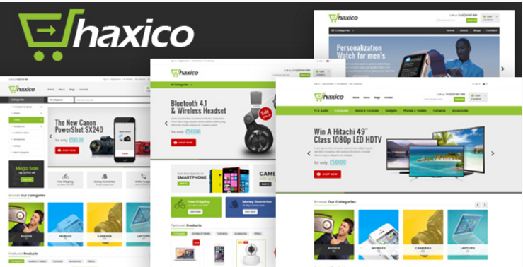 Haxico - Technology Responsive Prestashop Theme