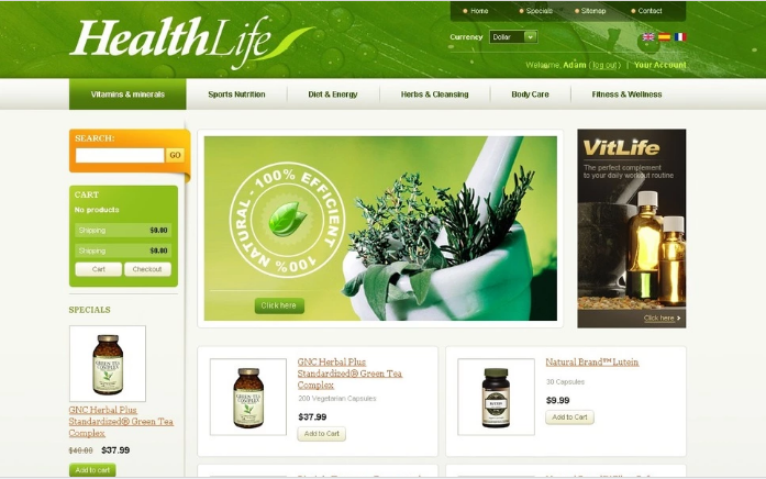 Health Life PrestaShop Theme