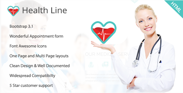Best Health HTML Website Templates