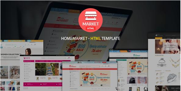 Home Market Creative - Modern - Flexible Responsive eCommerce HTML Template