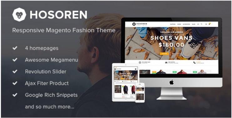 Hosoren - Responsive Magento Fashion Theme