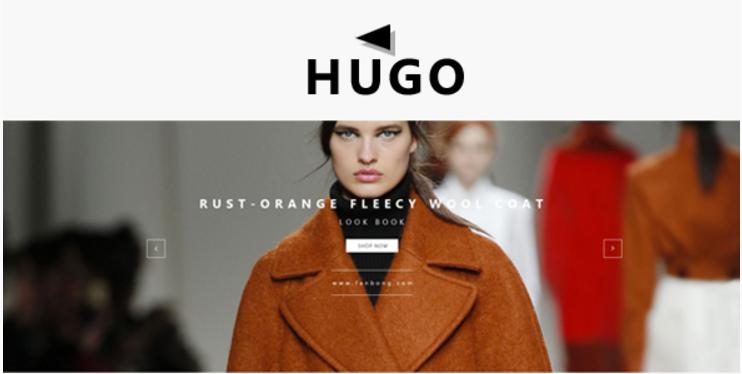 Hugo Fashion Shop - Responsive Magento Theme