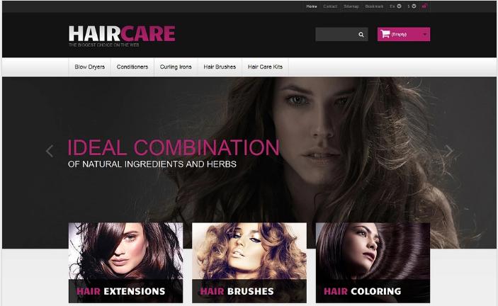 Ideal Hair PrestaShop Theme