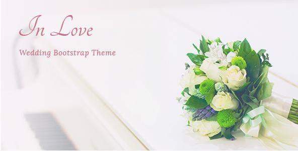 InLove - Responsive HTML Wedding Template