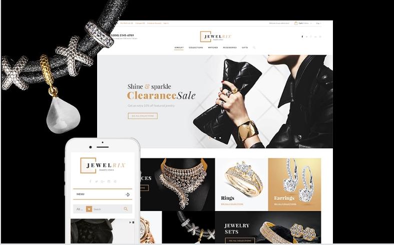 Jewelrix - Jewelry Store PrestaShop Theme