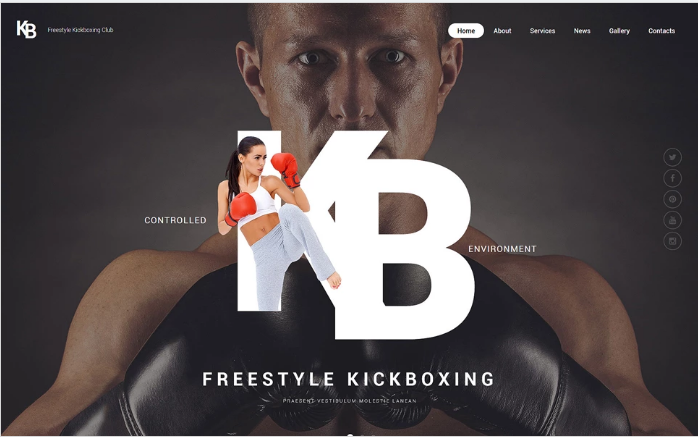 KB Website Template