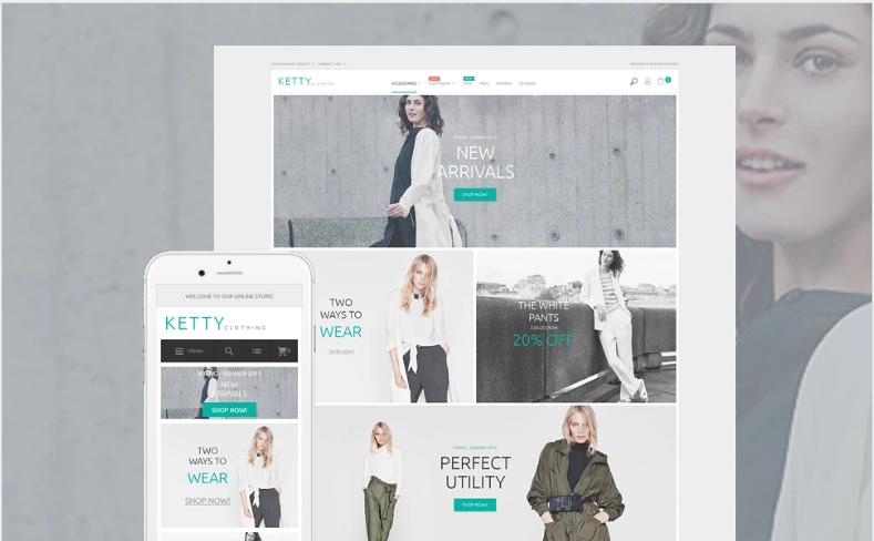 Ketty - Fashion Store Magento Theme