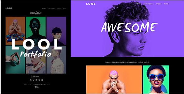 LOOL - Responsive Creative Portfolio Photography