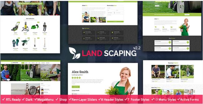 Landscaping- Gardening, Lawn & Landscape HTML5 Template
