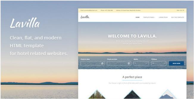 Lavilla - Hotel HTML Template