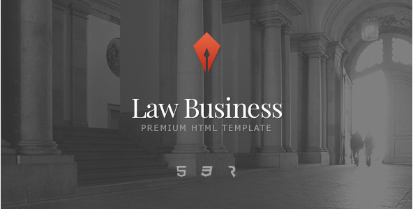 Law Business - Attorney & Lawyer HTML5 Template
