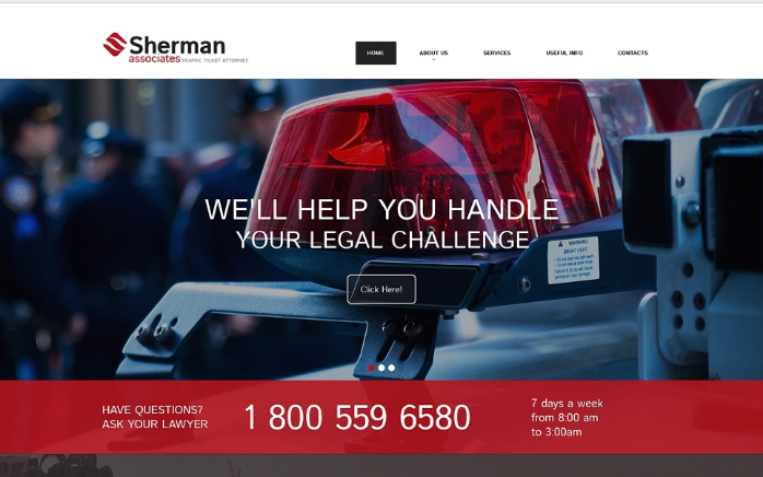 Best Lawyer HTML Website Templates