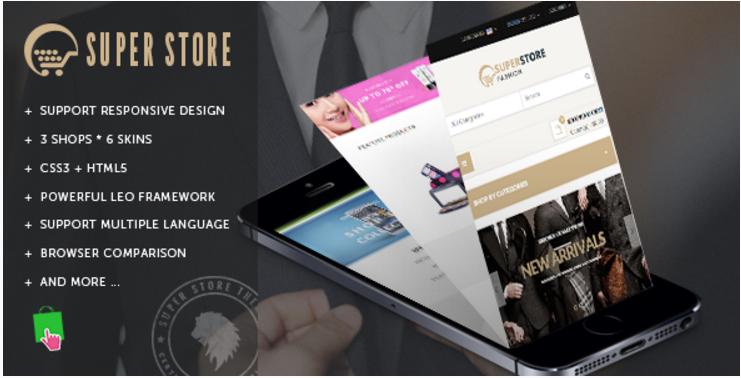 Leo Super Store PrestaShop Shopping Themes