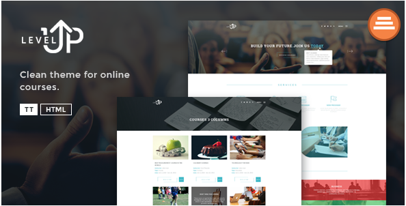 LevelUp - A Educational Courses HTML Template