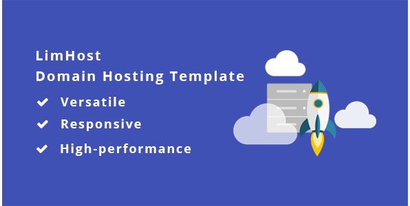 LimHost - Domain & Hosting HTML Template