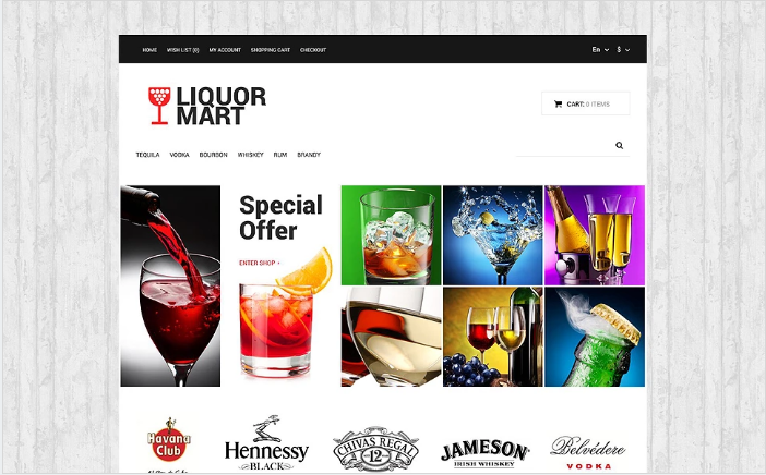 Best Drink OpenCart Themes