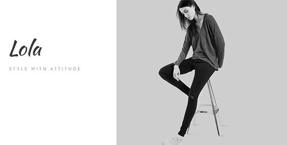 Lola - Minimal eCommerce Fashion HTML Template