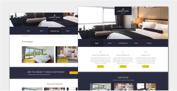 Luxury - Hotel and Resort HTML Template