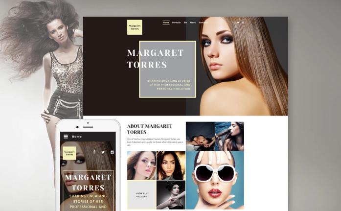 Margaret Torres Website Template