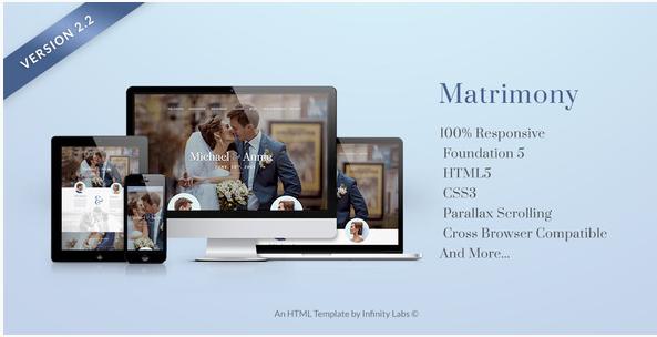 Matrimony - Responsive HTML5 Template