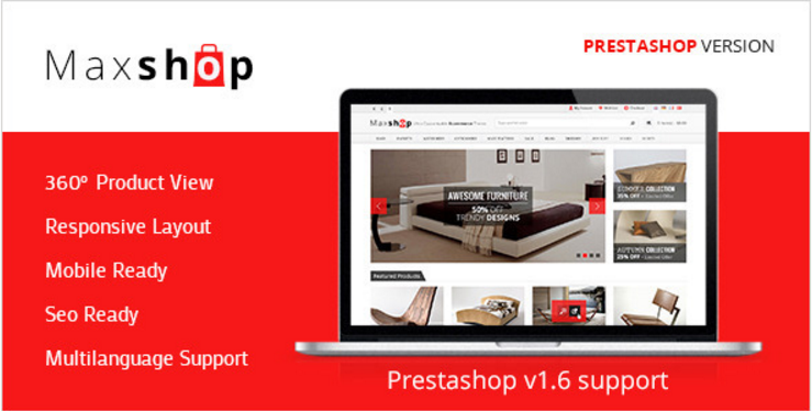 Maxshop - Prestashop Shopping Theme