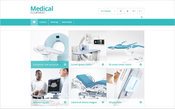 Medical Equipment Store PrestaShop Theme