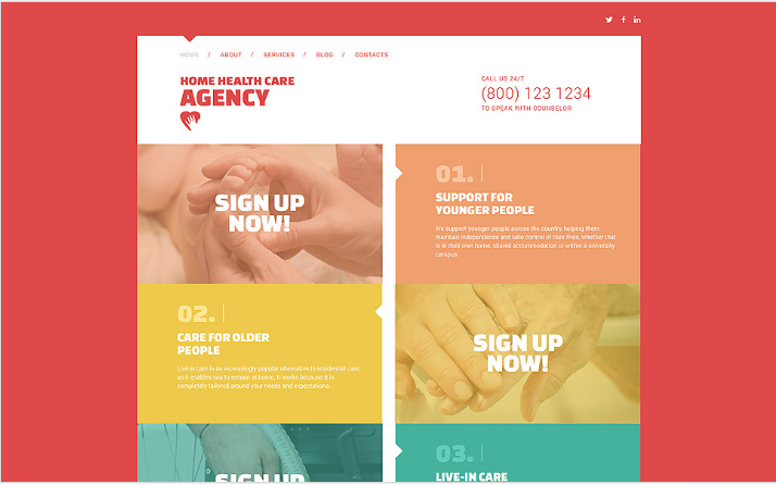 Medical Responsive Joomla Template