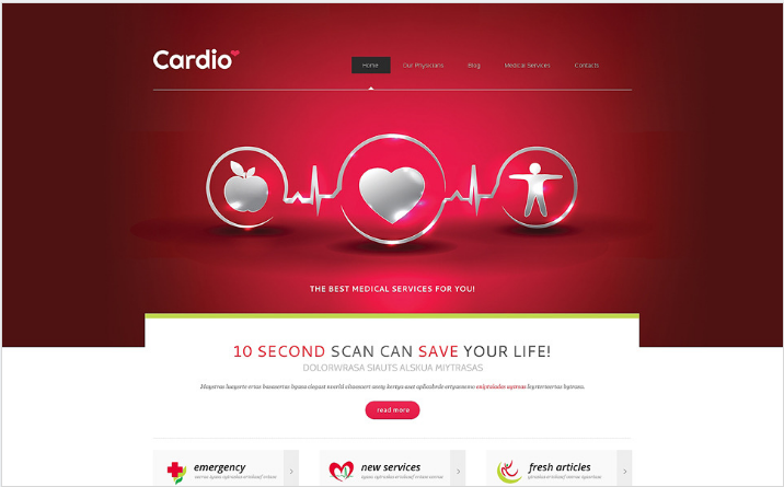 Best Medical Health Joomla Themes