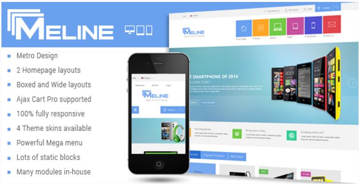 Meline - Responsive Multipurpose Magento Theme