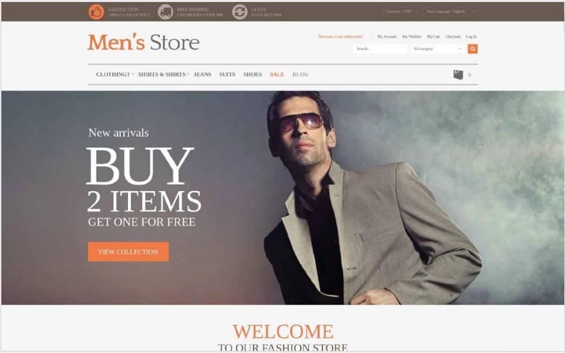 Magento Fashion Themes