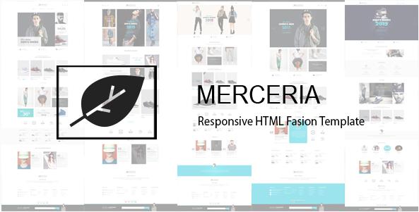 Merceria - Responsive HTML Fashion Template