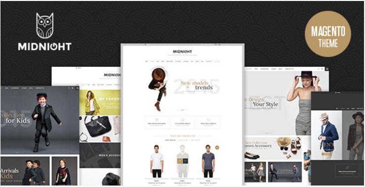 Midnight – Responsive Magento Theme