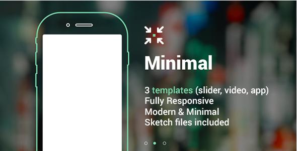 Minimal Landing Page HTML