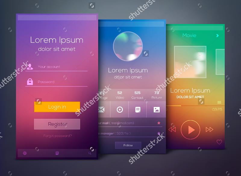 Mobile-Application-Screen-Mockup