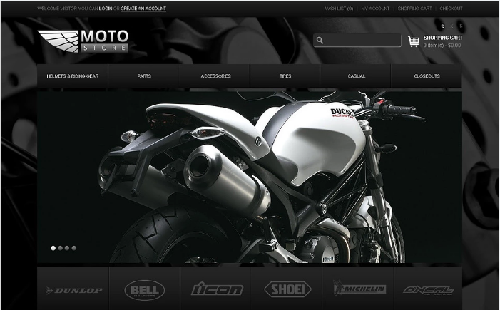 Moto Store OpenCart Template