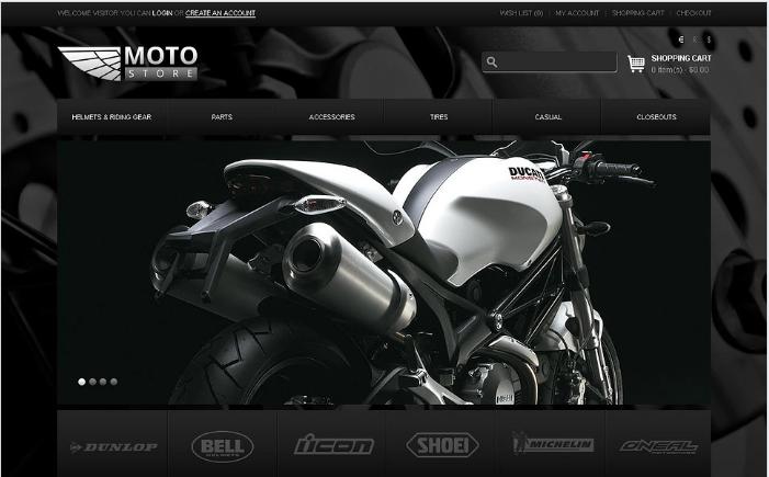 Moto Store OpenCart Template