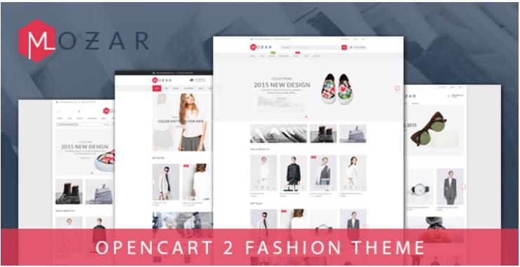 Mozar - Responsive OpenCart Clothing Theme