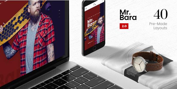 Mr.Bara A Premium Multi-Ecommerce PSD Template