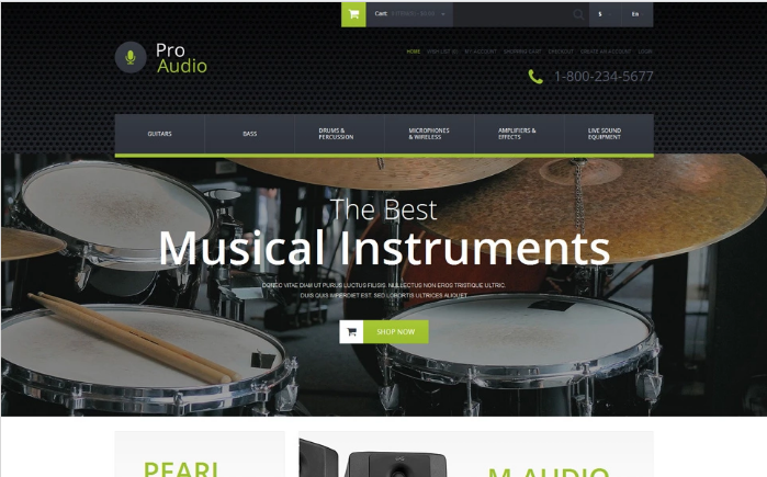 Best OpenCart Music Themes