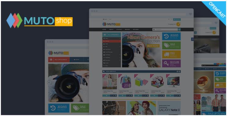 Muto - Mega Shop Responsive Opencart Theme